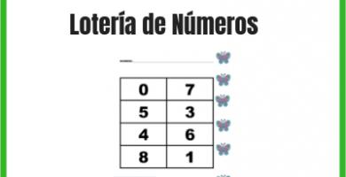 lotería de números