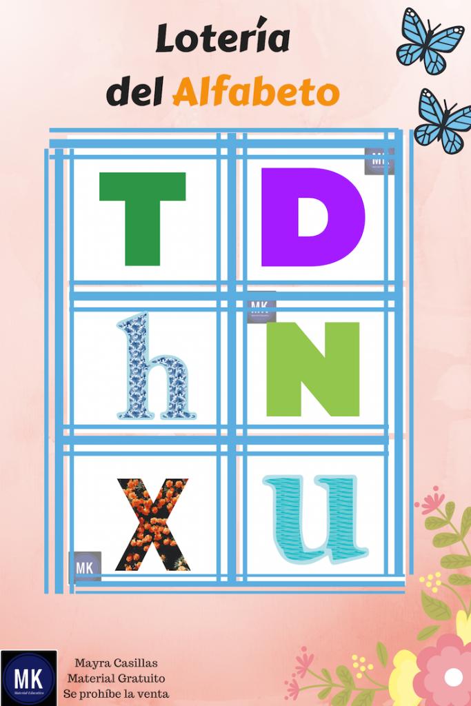 loteria abecedario pdf