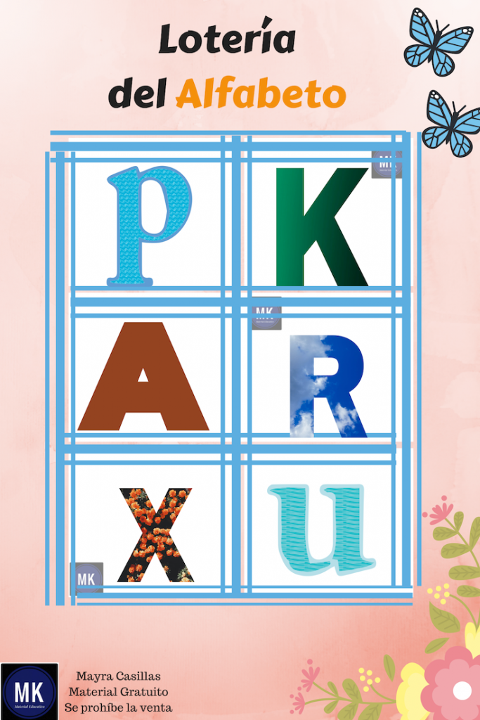 loteria del abecedario