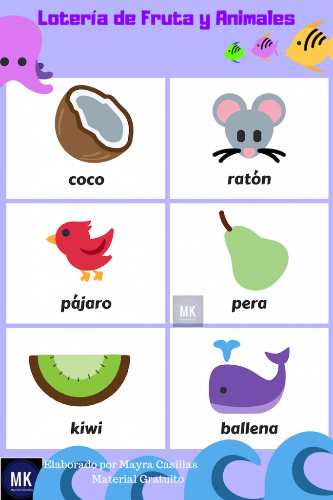 animales de la loteria mexicana