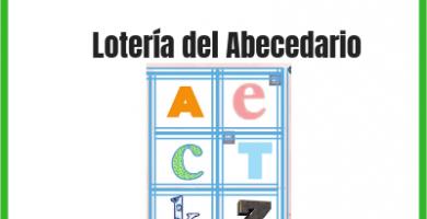 Lotería del alfabeto