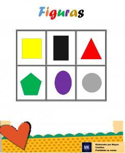 lotería de figuras geométricas para descargar