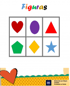 lotería de figuras geométricas para imprimir