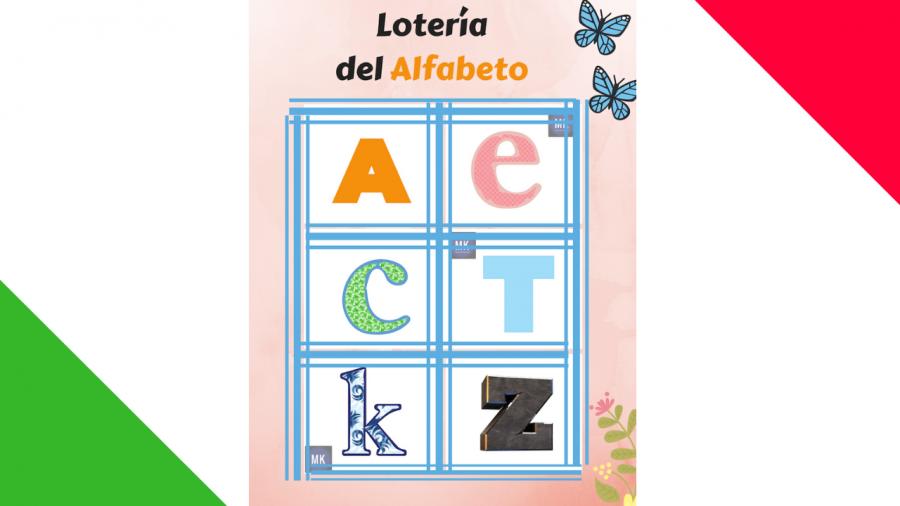 lotería del abecedario
