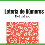 loteria de numeros del 1 al 100 pdf