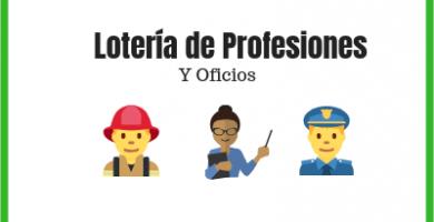 loteria de oficios y profesiones