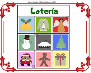 loterias navidad para imprimir